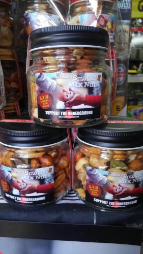 SMOKED MIX NUTS SxTxU SPECIAL RICH BLEND (150g)