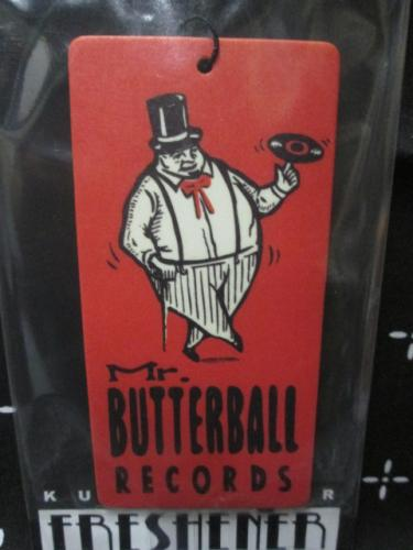 JACK-O' Design エアフレッシュナー Mr.BUTTERBALL RECORDS