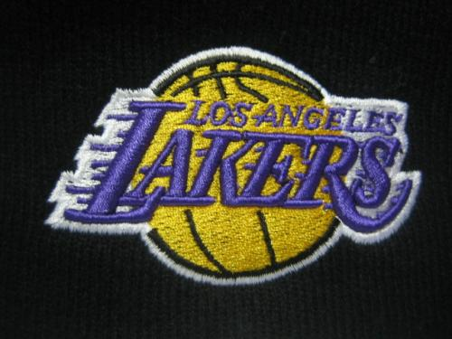 NBA ロゴ刺繍ニットキャップ LAKERS
